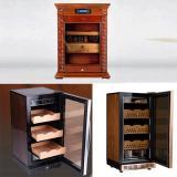 Tủ giữ ẩm bảo quản xì gà cắm điện Lubinski 3 tầng cao cấp, quà biếu sếp