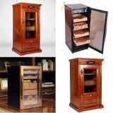 5 mẫu tủ bảo quản giữ ẩm xì gà cắm điện 4 tầng Lubinski cao cấp