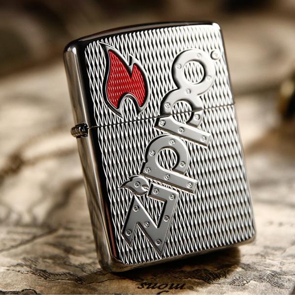 Bật lửa Zippo Mỹ khắc biểu tượng Zippo chéo - 0988 00 11 31