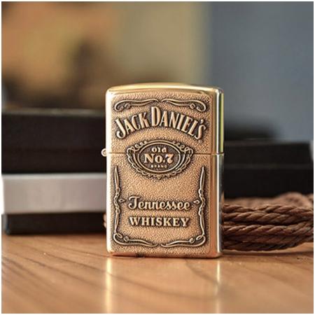 Bật lửa Zippo Mỹ khắc Jack Daniel chính hãng - Mã SP: Z024