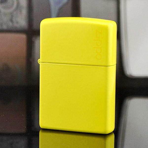 Bật lửa Zippo Mỹ màu vàng chính hãng - 0988 00 11 31