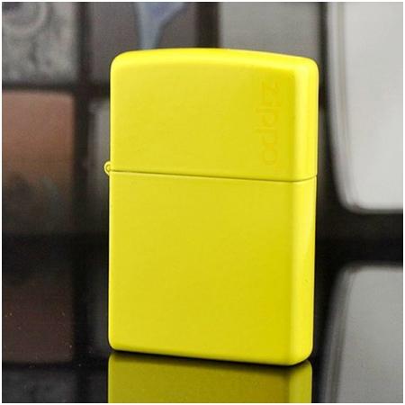 Bật lửa Zippo Mỹ màu vàng chính hãng - Mã SP: Z130