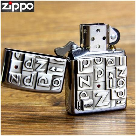 Bật lửa Zippo Mỹ khắc nhiều chữ Zippo - Mã SP: Z133