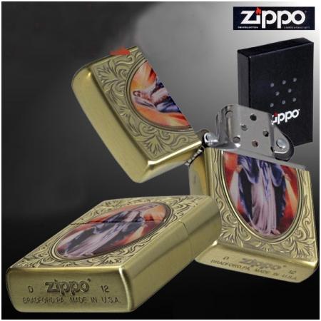 Bật lửa Zippo Mỹ in hình đức mẹ - Mã SP: Z136