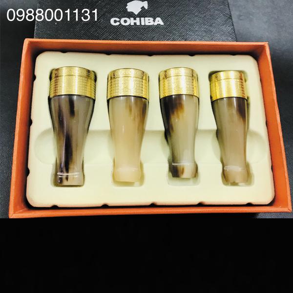 Bộ tẩu bắt tóp Cigar Cohiba chính hãng - 0988001131
