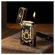 Bật lửa S.T.Dupont sơn mài đen viền vàng vương miện hoàng gia - Mã SP: BLD023