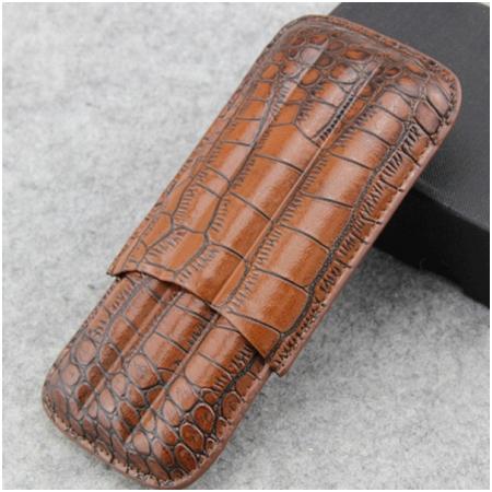 Bao da đựng Cigar (xì gà) chính hãng Cohiba loại 3 điếu - Mã SP: BLP306B
