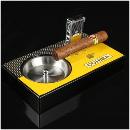 Gạt tàn Cigar kèm bật lửa Cigar Cohiba chính hãng - Mã SP: G107
