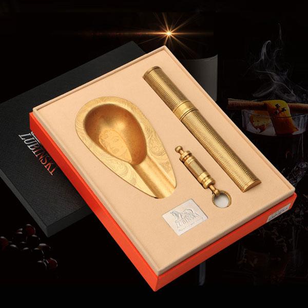 Quà tặng cao cấp cho sếp nam: sét gạt tàn, ống đựng, dao cắt Cohiba 50540_129823