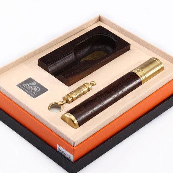 Set gạt tàn xì gà, ống đựng xì gà, đục xì gà Lubinski chính hãng - 0988 00 11 31