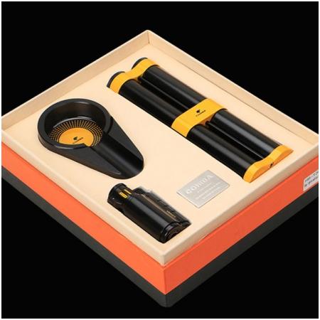 Set gạt tàn xì gà (Cigar), bật lửa xì gà, ống đựng xì gà Cohiba - Mã SP: T304