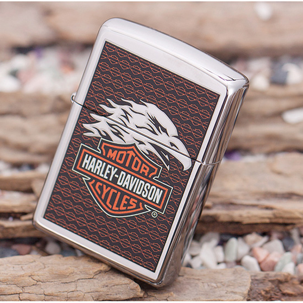 Bật lửa Zippo Mỹ in Logo Harley Davidson - 0988 00 11 31