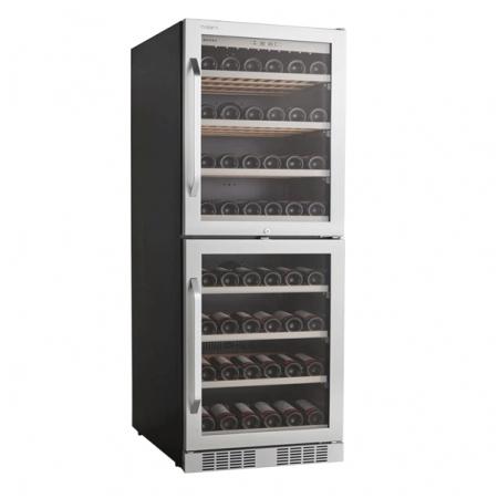 Tủ mát ướp rượu vang, tủ bảo quản rượu vang 151 chai Kadeka - Mã SP: 165T