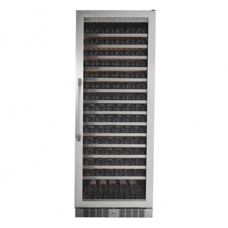Tủ ướp rượu vang, tủ bảo quản rượu vang cao cấp Kadeka 165 chai - Mã SP: 168EW