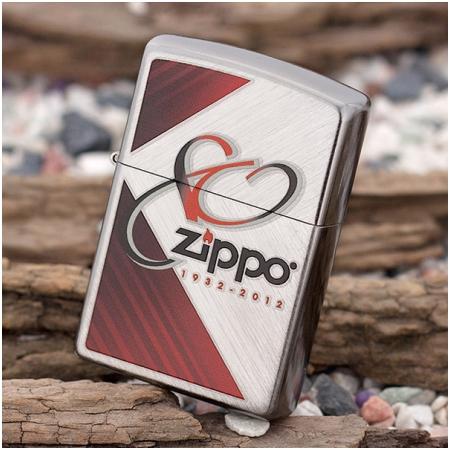 Bật lửa Zippo Mỹ in hình kỷ niệm 80 năm - Mã SP: Z037