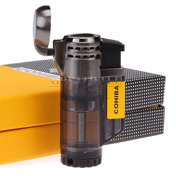 Bật lửa khò hút Cigar Cohiba chính hãng 3 tia lửa khò - 0988 00 11 31