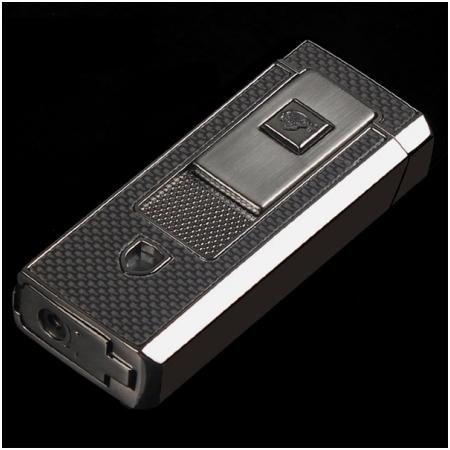 Bật lửa khò hút Cigar (xì gà) Cohiba màu xám 2 tia lửa khò - Mã SP: COB46