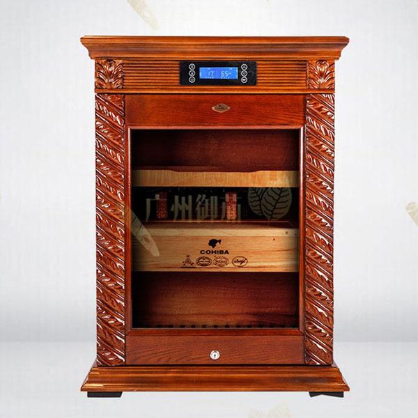 Địa chỉ bán tủ bảo quản giữ ẩm xì gà cắm điện Cohiba uy tín tại Hà Nội - 0988001131
