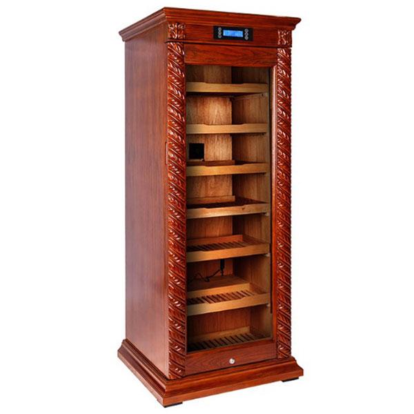 Nơi bán tủ bảo quản xì gà mini cắm điện 2 tầng cao cấp tại Hà Nội - 0988001131