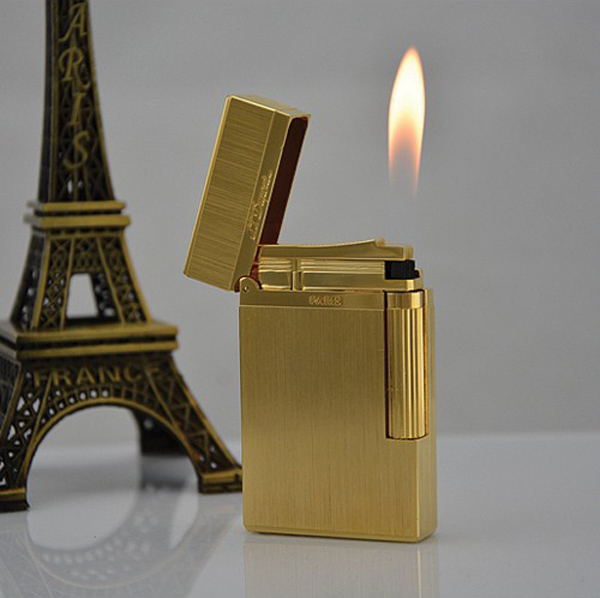 Bật lửa S.T.Dupont vàng xước- 0988 00 11 31