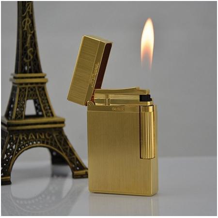 Bật lửa S.T.Dupont vàng xước - Mã SP: BLD026