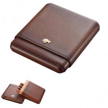 Bao da đựng Cigar (xì gà) Cohiba chính hãng loại 5 điếu - Mã SP: H561B