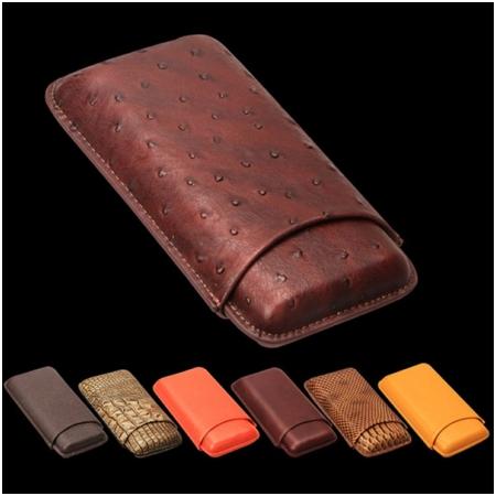 Bao da đựng Cigar (xì gà) Cohiba loại 3 điếu chính hãng - Mã SP: CP101