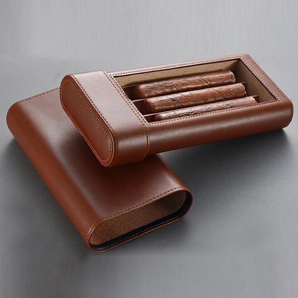 Bao da Cigar Cohiba chính hãng loại 3 điếu - 0988001131
