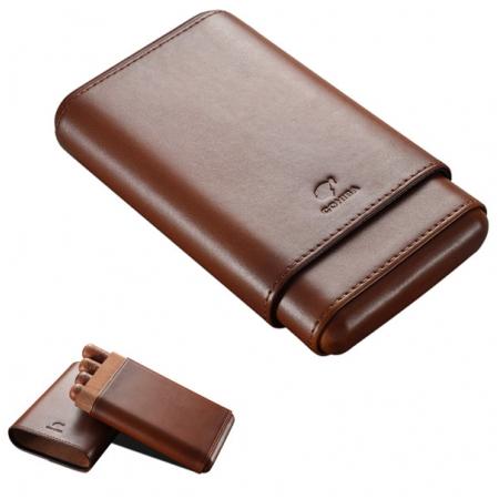 Bao da đựng Cigar (xì gà) Cohiba chính hãng loại 4 điếu - Mã SP: CC4001