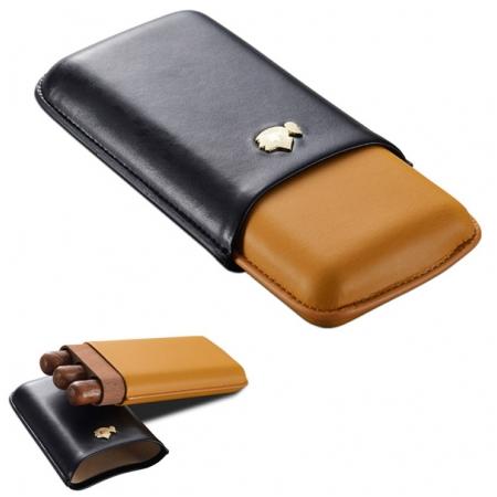 Bao da đựng Cigar (xì gà) Cohiba loại 3 điếu chính hãng - Mã SP: 361A