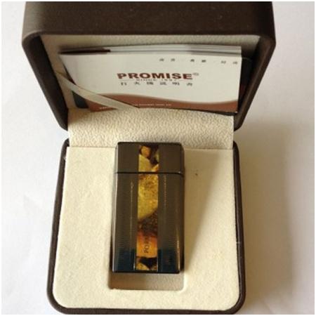 Bật lửa Promise chính hãng đen vàng - Mã SP: BLP020