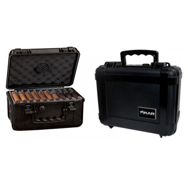 Hộp giữ ẩm Cigar Xikar màu đen kiểu vali - 0988 00 11 31