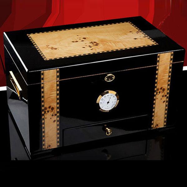 Hộp giữ ẩm Cigar Cohiba loại 100 điếu có khóa cao cấp - 0988 00 11 31