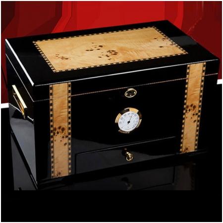 Hộp giữ ẩm Cigar (xì gà) Cohiba loại 100 điếu có khóa cao cấp- Mã SP: CH0414