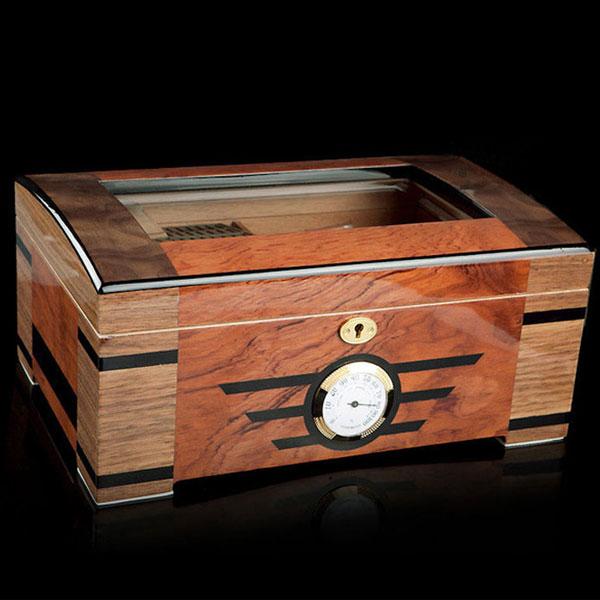 Hộp giữ ẩm Cigar Trinidad loại 100 điếu có khóa - 0988 00 11 31