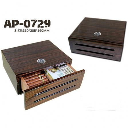 Hộp giữ ẩm Cigar (xì gà) Humidor loại 40 điếu chính hãng- Mã SP: AP0729