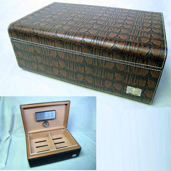 Hộp giữ ẩm Cigar Cohiba chất liệu da và gỗ cao cấp - 0988 00 11 31