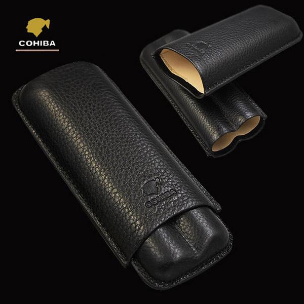 Bao da đựng Cigar Cohiba chính hãng loại 2 điếu - 0988001131