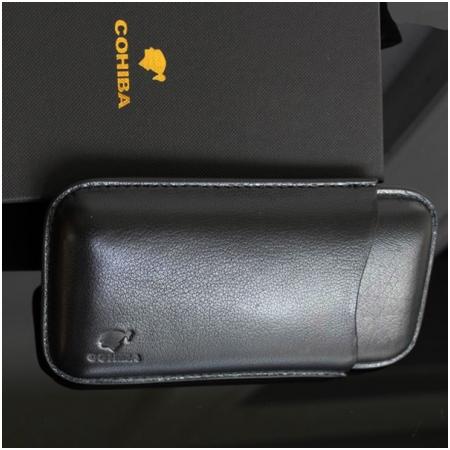 Bao da đựng Cigar (xì gà) Cohiba chính hãng loại 3 điếu - Mã SP: 1301L