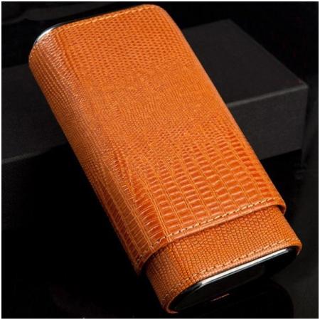 Bao da đựng Cigar (xì gà) Cohiba chính hãng loại 3 điếu - Mã SP: P3038