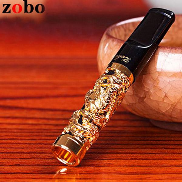 Tẩu lọc hút thuốc lá Zobo rồng vàng cao cấp - 0988001131