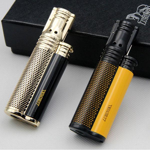 Bật lửa xì gà 1 tia Lubinski cao cấp kèm đục - 0988 00 11 31