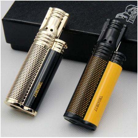 Bật lửa xì gà 1 tia Lubinski cao cấp kèm đục - Mã SP: KB26