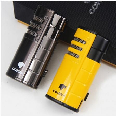 Bật lửa xì gà (cigar) Cohiba 3 tia kèm đục - Mã SP: H17