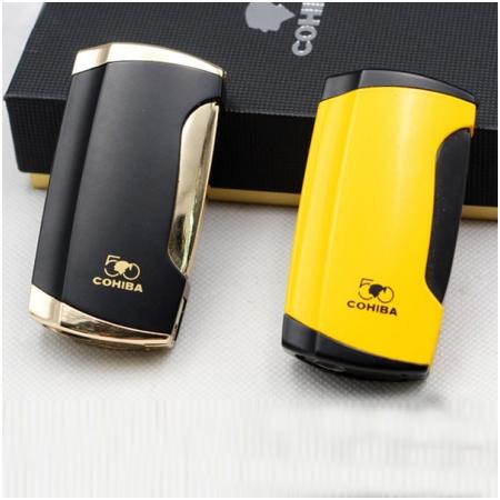 Bật lửa khò xì gà (cigar) Cohiba 2 tia cao cấp - Mã SP: H13