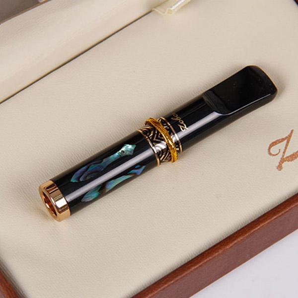 Tẩu lọc hút thuốc lá Zobo chính hãng màu đen - 0988001131