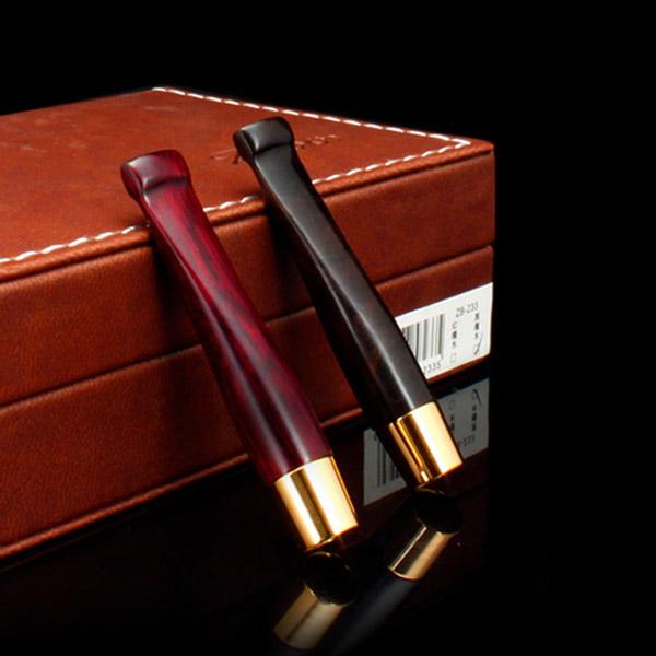 Tẩu lọc hút thuốc lá Zobo màu đen, đỏ cao cấp - 0988001131