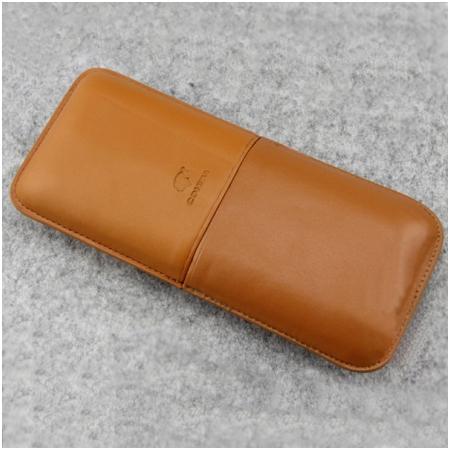 Bao da đựng Cigar (xì gà) Cohiba chất liệu da cao cấp - Mã SP: 1300L