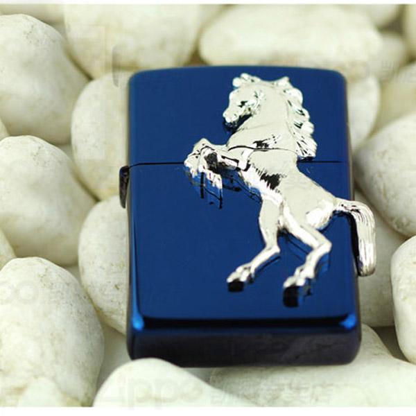 Bật lửa Zippo Mỹ xuất Nhật - chú ngựa trắng 3D - 0988 00 11 31