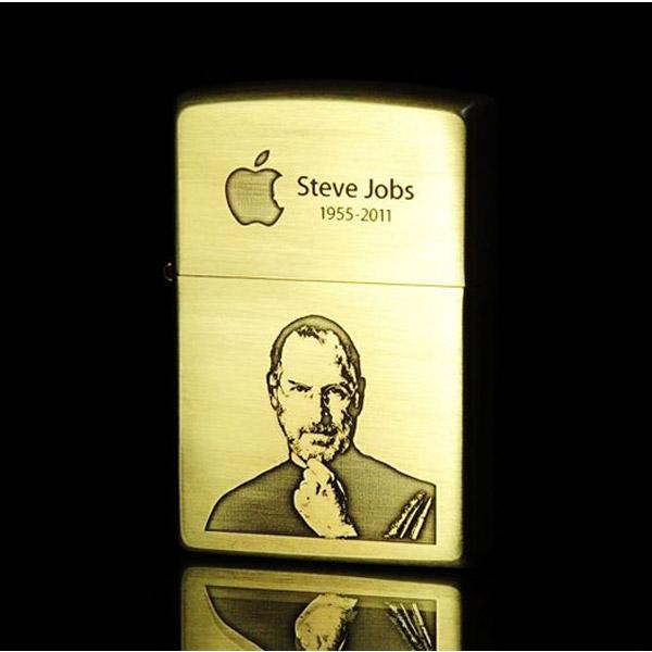 Bật Zippo Mỹ xuất thị trường Nhật in hình Steve Jobs  - 0988 00 11 31